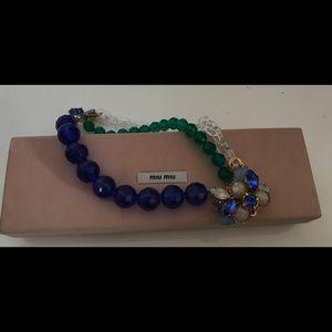 Jewelry - Miu Miu multi color bracelet crystal